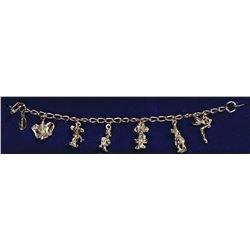 Disneyland 6-Charm Character Bracelet.