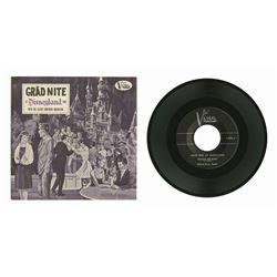 1962 Grad Nite Souvenir Record.