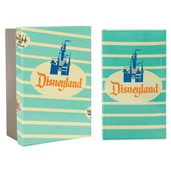 Ceramic Disneyland Popcorn Box Limited Edition Replica.