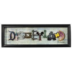 Dave Avanzino Disneyland Dimensional Artwork.