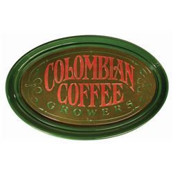 Plaza Inn Columbian Coffee Growers Sign.
