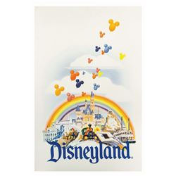 Test Proof for Disneyland Merchandise Bags.