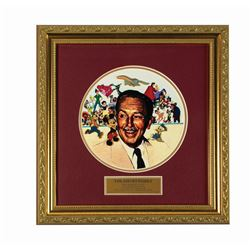 The Disney Family Walt Portrait Pin Set.