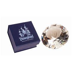 Disneyland 60th Anniversary Faux Diamond Press Gift.