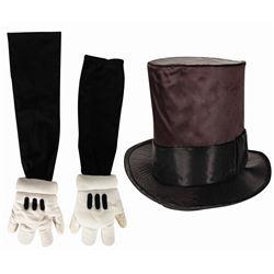 Mickey Walk-Around Character Hat & Gloves.