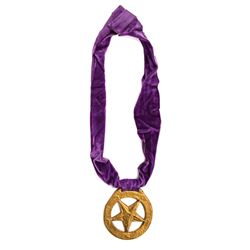 King Leonidas Disneyland Character Medallion.
