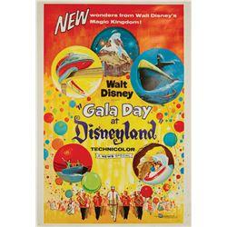 Gala Day at Disneyland One Sheet Poster.