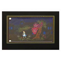 Electrical Parade Alice Float Concept Painting.