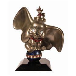 Dumbo The Hub Bronze Statue.