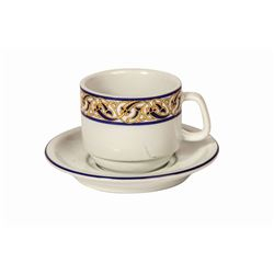 Aladdin's Oasis Restaurant Coffee Cup and Saucer.
