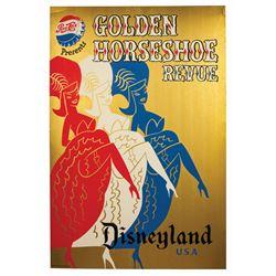 Golden Horseshoe Revue Attraction Poster.