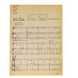 Golden Horseshoe Revue Honky Tonkin' Sheet Music.