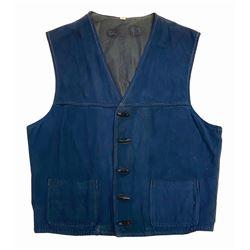 Frontierland Shooting Gallery Cast Member Vest.