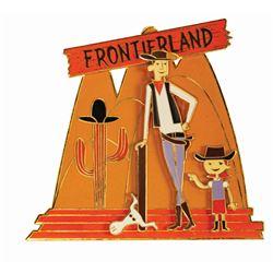 Shag Frontierland 50th Anniversary Pin.