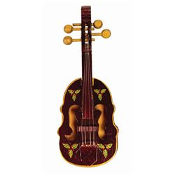 Country Bear Christmas Special Fiddle Ornament.