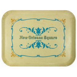 New Orleans Square Dining Tray.