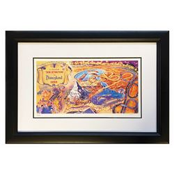 Herb Ryman New Attractions of 1959 Lithograph.