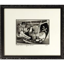 """""""Walt Flies to Never Land"""" Limited Edition Print."""