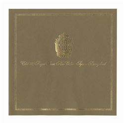 Early Club 33 Brochure Cover and Envelope.