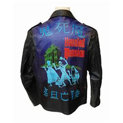 Tokyo Disneyland Exclusive Hand-Painted Leather Jacket.