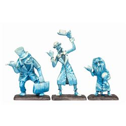 """""""Beware of Hitchhiking Ghosts"""" WDCC Figures."""
