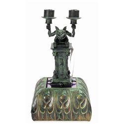 Haunted Mansion Gargoyle Candleholder.