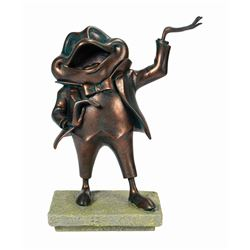 Haunted Mansion Mr. Toad Tombstone Figure.