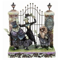 Haunted Mansion Hitchhiking Ghosts Light-up Figure.