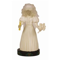 Haunted Mansion Ghost Bride Light-up Figure.
