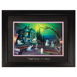 Haunted Mansion Nuptial Doom Pin Set.