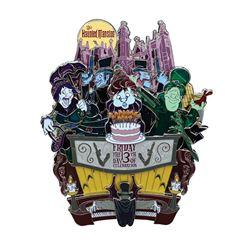 Haunted Mansion Friday the 13th Jumbo Pin.