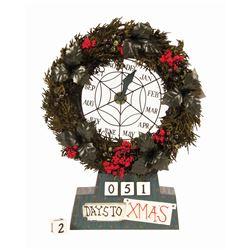 Haunted Mansion Holiday Countdown Clock.
