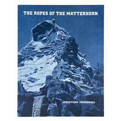 """The Ropes of the Matterhorn"" Cast Member Booklet."