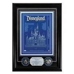 Sleeping Beauty Castle Etched Glass 3D Blueprint.