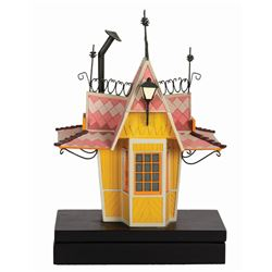 Casey Jr. Circus Train Ticket Booth Model.