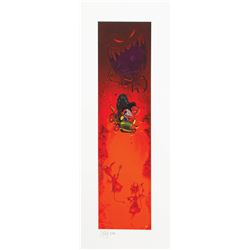 Mr. Toad's Wild Ride Limited Edition Lithograph.