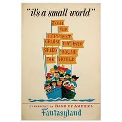 It's a Small World Attraction Poster.