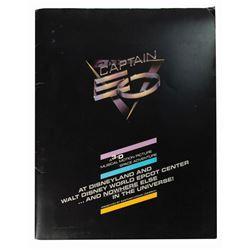Captain EO Premiere Press Kit.