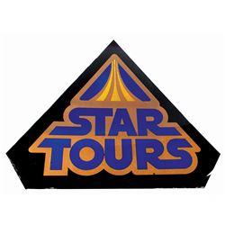 Star Tours Entrance Sign.