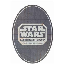 Star Wars Launch Bay Sign.