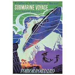 Submarine Voyage Disney Gallery Attraction Poster.