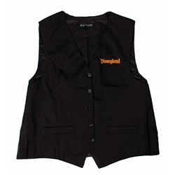 Disneyland Resort Halloween Time Cast Member Vest.