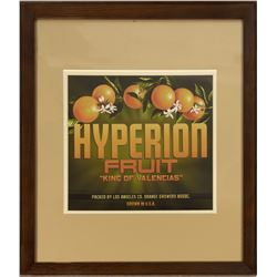 Grand Californian Hyperion Fruit Print.