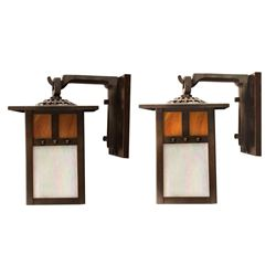 Pair of Grand Californian Hotel Headboard Lights.