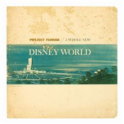 """Project Florida: A Whole New Disney World"" Booklet."