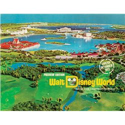Walt Disney World Preview Edition Book.