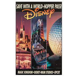 Walt Disney World Park Hopper Ticket Sign.