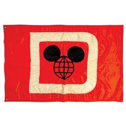 Excursion Steamer Mickey Flag.