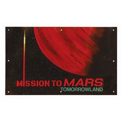 Mission to Mars Omnibus Attraction Poster Sign.