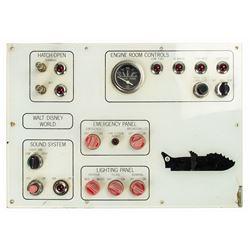 20,000 Leagues Under the Sea Submarine Control Panel.